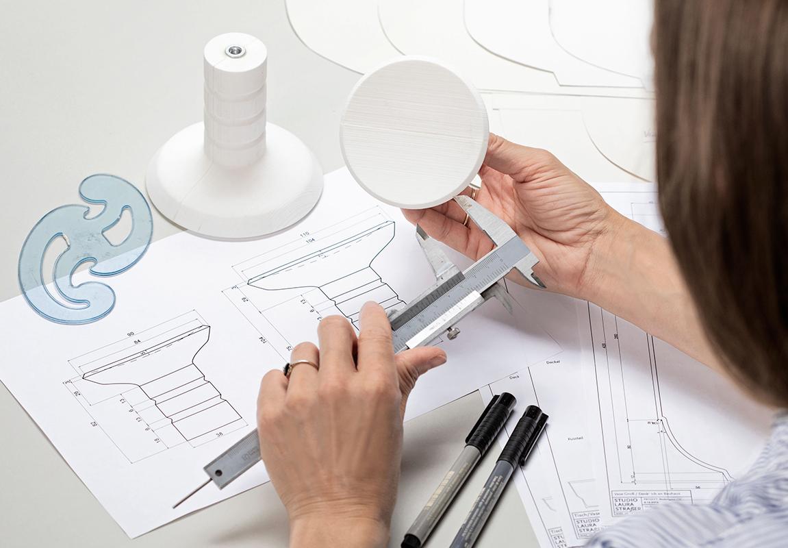 Laura Straßer Ceramics Designprozess